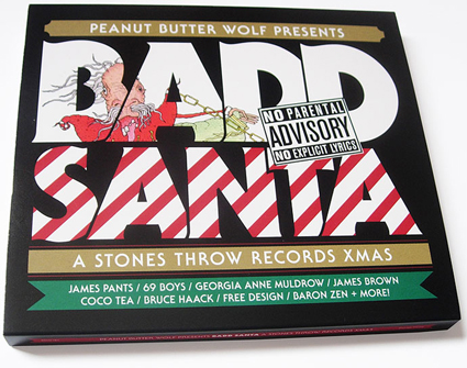 Bad Santa CD Cover
