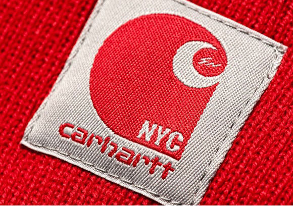 carhartt nyc red