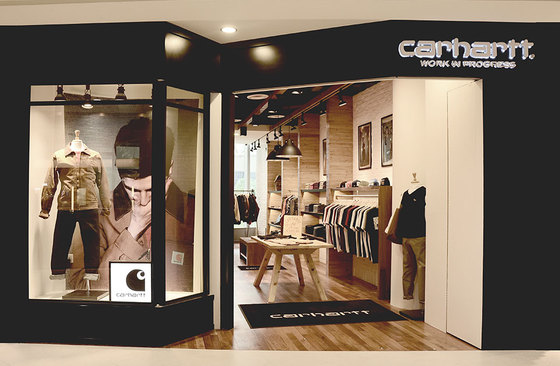 stores carhartt wip. Black Bedroom Furniture Sets. Home Design Ideas