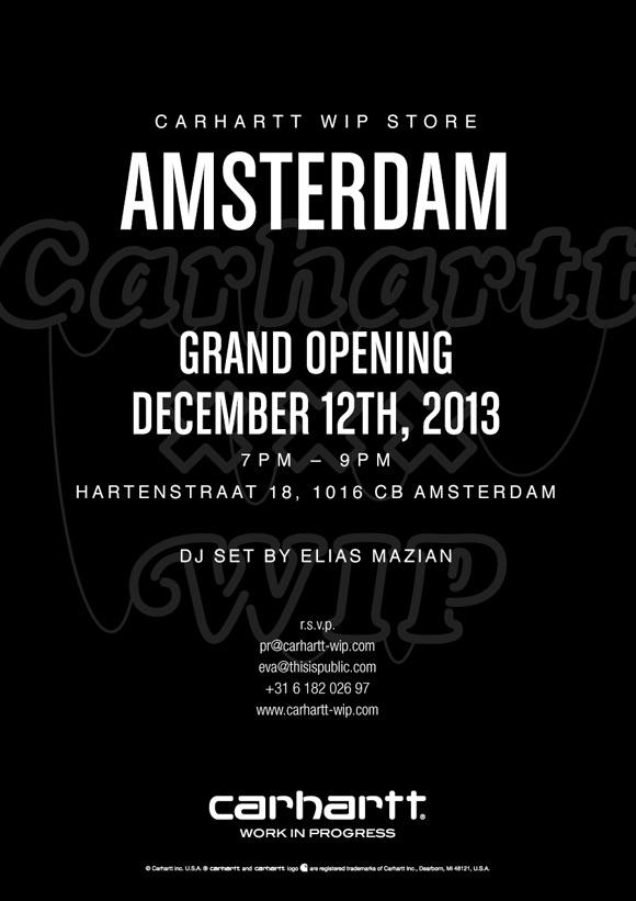 Carhartt WIP Store Amsterdam