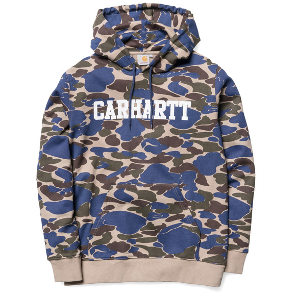 Carhartt Camo Isle Metro Blue